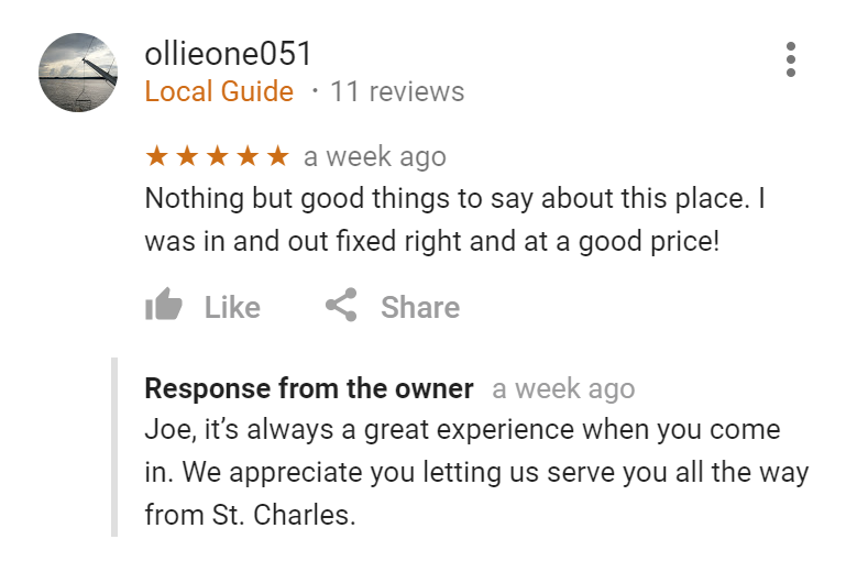 ollie geared up st louis transmisison repair review.png