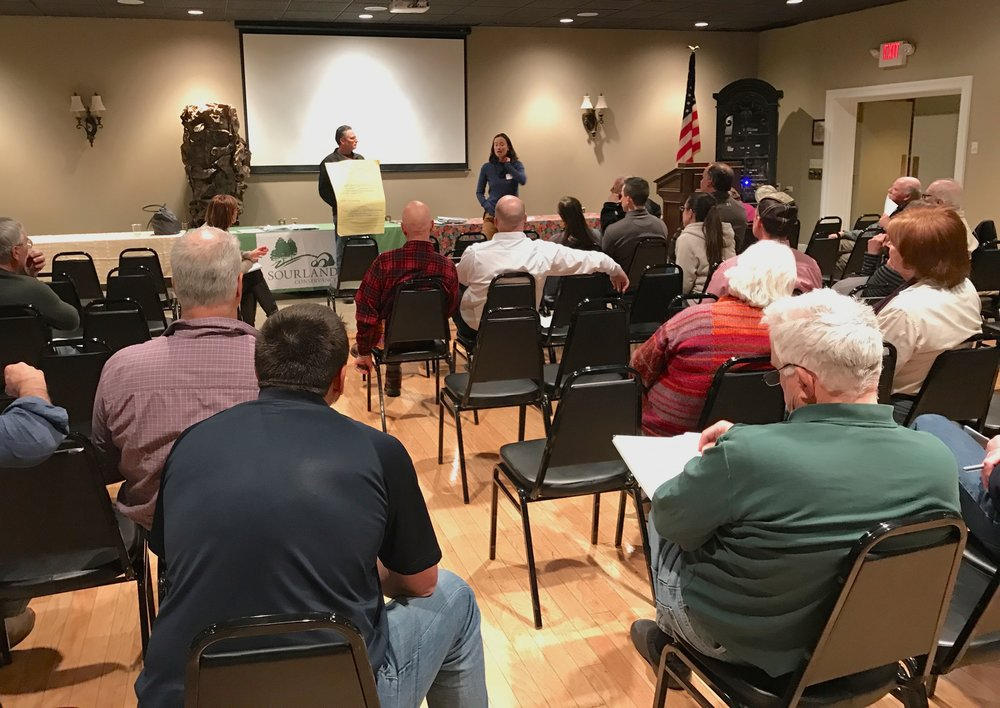 Deer Management Symposium hosted by the Sourland Conservancy.