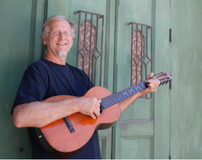 """Peter Lippincott , an Arkansas Living Treasure in pottery, has re-engaged his song-writing brain for the last decade. He has produced 2 CDs of his songs and is working on a third. His songs have won the song writing competition at Winfest, Winfield, KS, twice and come runner up another two times. He is a multi-instrumentalist. His fiddle tune """"Snake River Reel"""" written 35 years ago is played worldwide. That tune and twelve more are presented on another self-produced CD.  His songs are quite varied in topic and musical style. He draws his main inspiration from traditional forms, which he has enjoyed, played and studied for over 50 years.  """"""""Marigold"""" is a song from my college days. Marigold is the alias I gave a female friend from that time. The song reflects my fears for her future. """"Marigold"""" appeared originally on a compilation LP from 1970 and reappears on my CD entitled """"Brain Freeze"""", 2013.""""   http://www.mudpuppy-studios.com/"""