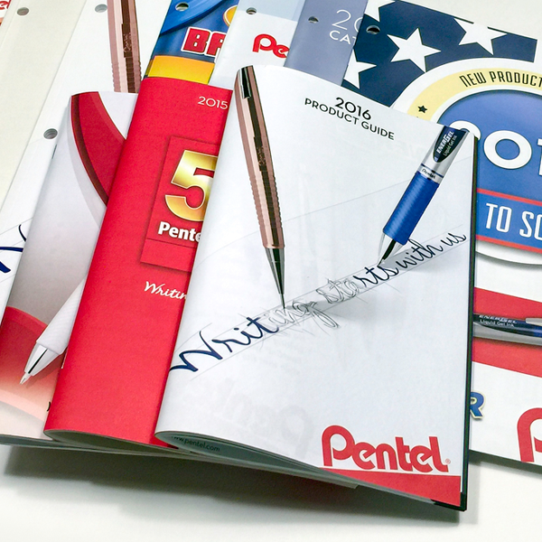 Pentel of America, Ltd. - Catalog Design