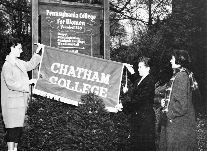 Chatham College cornerstone