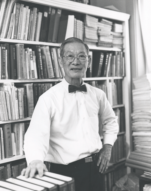 Dr. Wing-tsit Chan  was one of the world's leading scholars of Chinese philosophy and religion. He was the Anna R. D. Gillespie Professor of Philosophy at Chatham from 1966-1982. (1970)