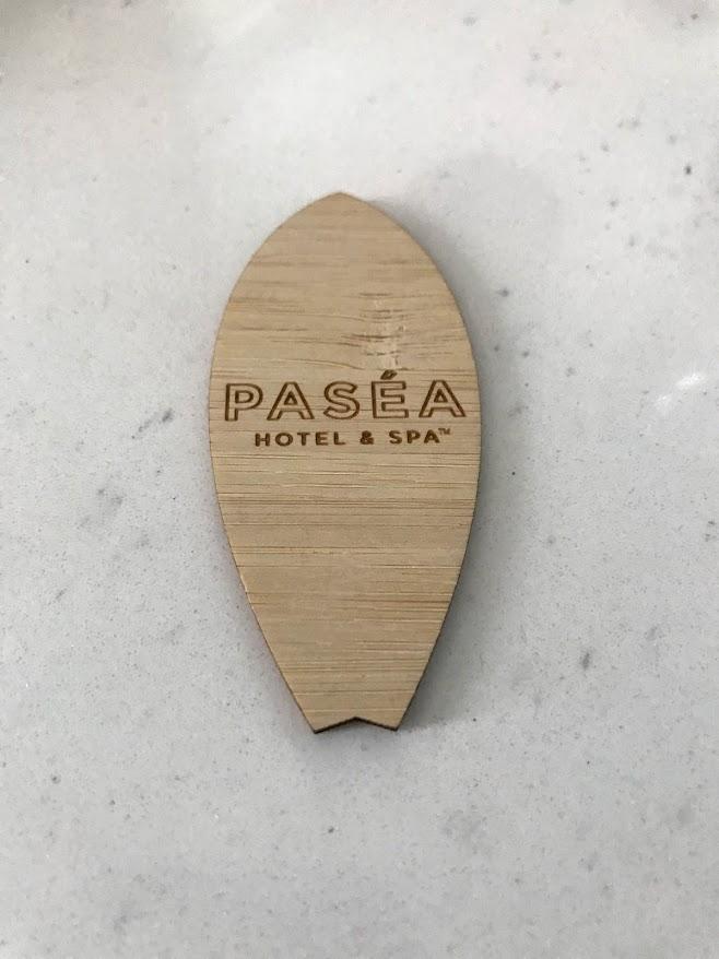 The surfboard room keys make for a cute souvenir.