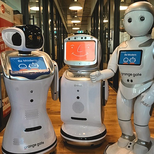 Happy siblings day from our favourite bot family! ❤️🤖 Mika, Leo and Juno had a blast spending this day together. #nationalsiblingday #robots #familygoals