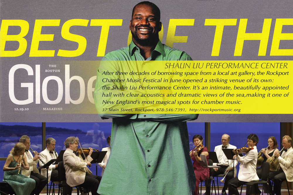 2010 BEST OF THE NEW: SHALIN LIU PERFORMANCE CENTER  The Boston Globe Sunday Magazine