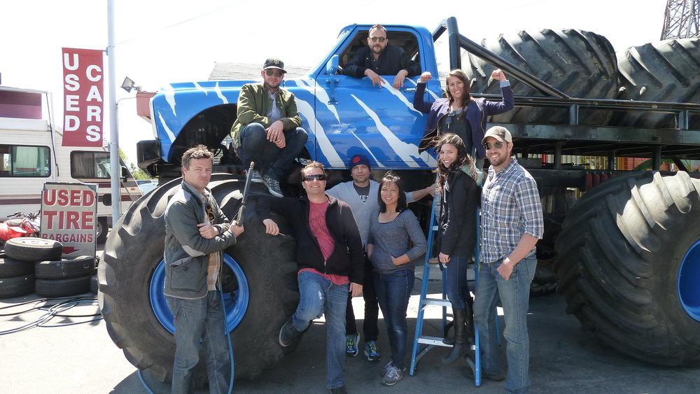 The best crew. A fun shoot.