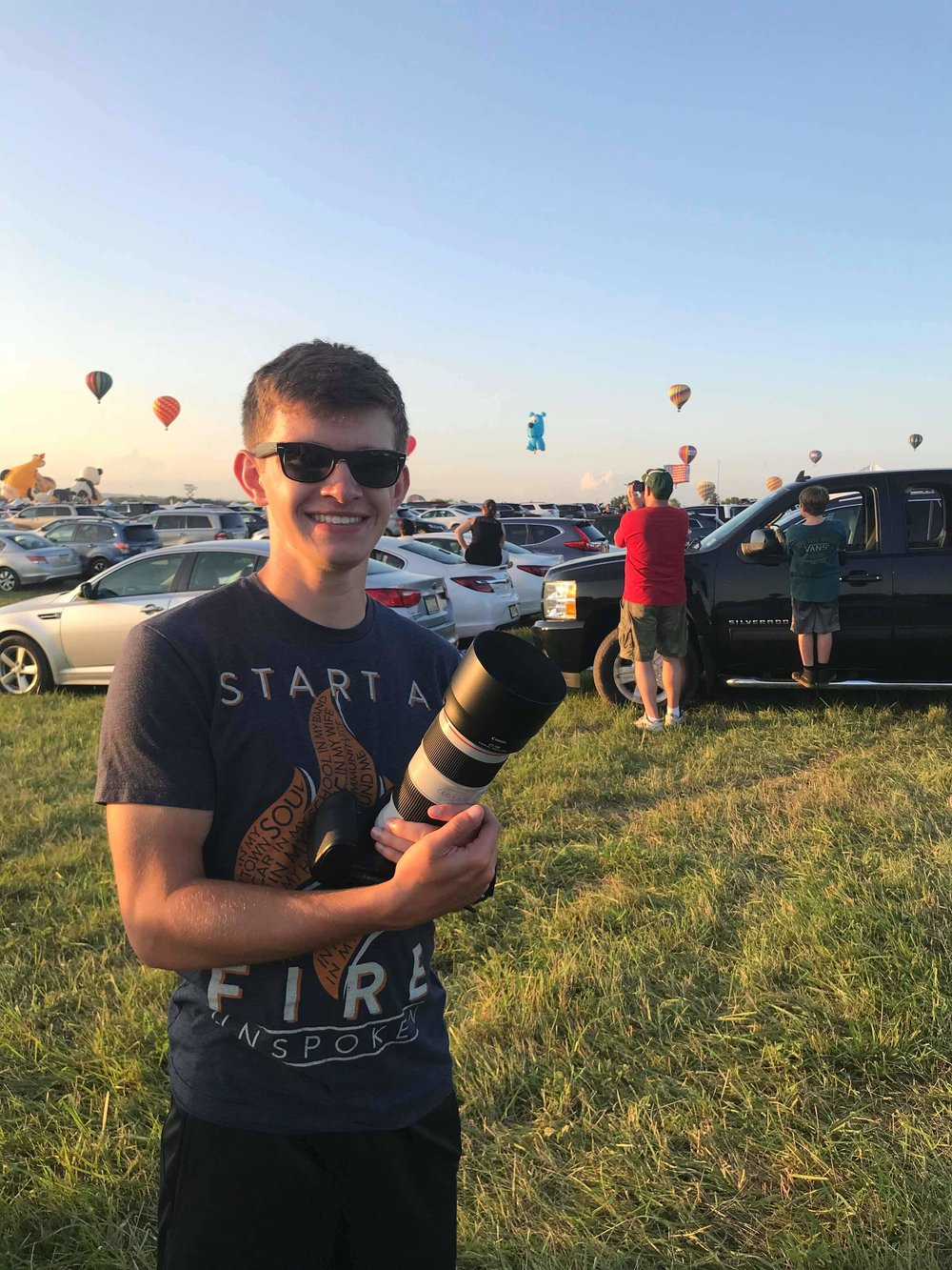 Me with bae at the 2018 Solberg Balloon Festival in Readington, New Jersey.