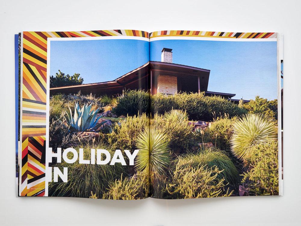 Stephen Karlisch FD House Holiday In Title Spread