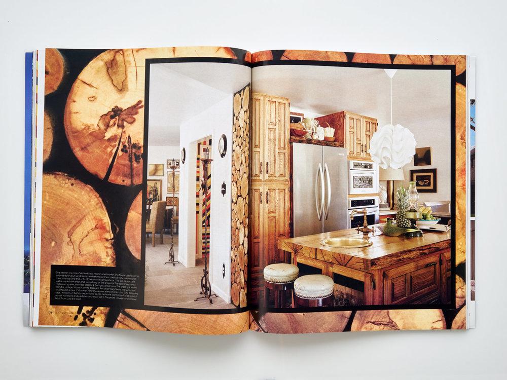 Stephen Karlisch FD House Holiday In Kitchen