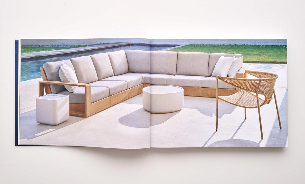 Stephen Karlisch Sutherland Furniture Franck Poolside Sectional