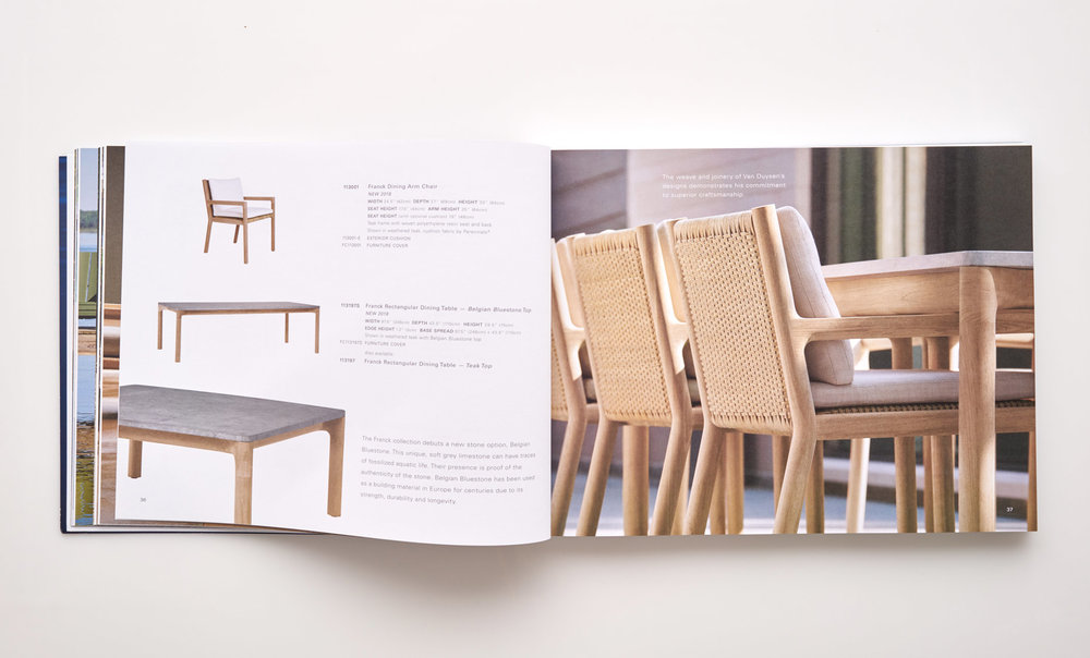 Stephen Karlisch Sutherland Furniture Franck Dining Detail