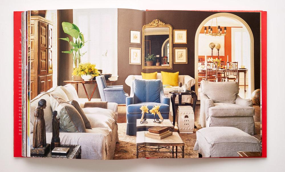 Stephen Karlisch Wanderlust Asian Inspired Living Room