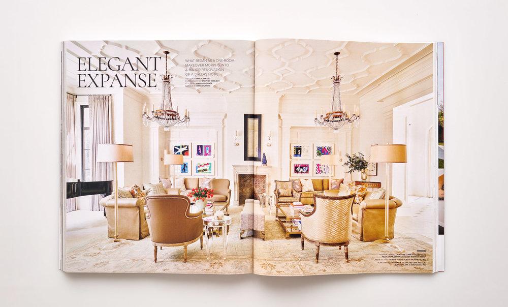 Stephen Karlisch Luxe Elegant Expanse Title Spread