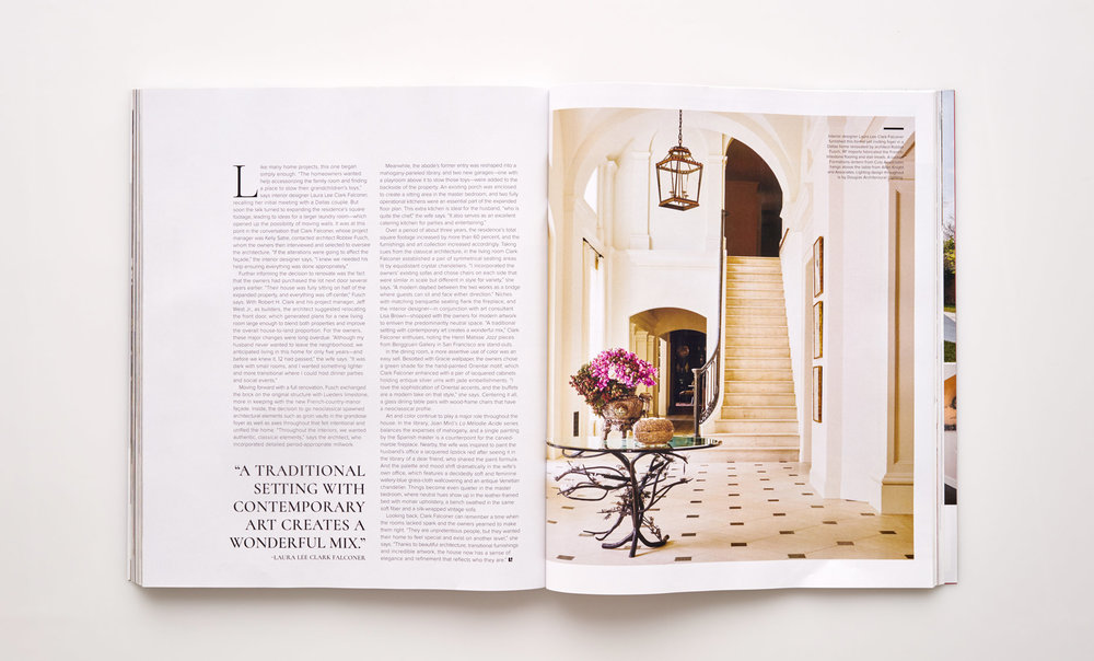 Stephen Karlisch Luxe Elegant Expanse Vestibule