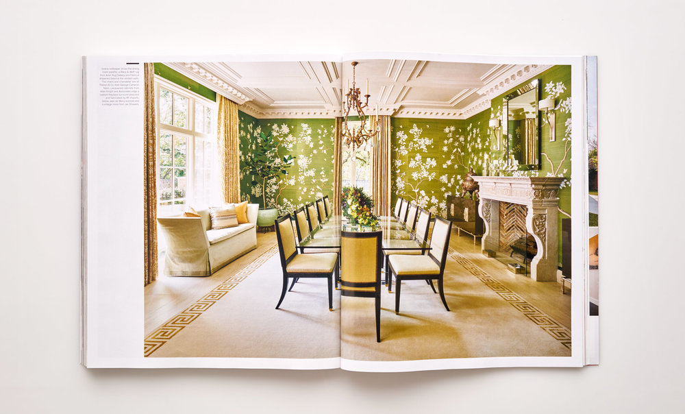 Stephen Karlisch Luxe Elegant Expanse Dining Room