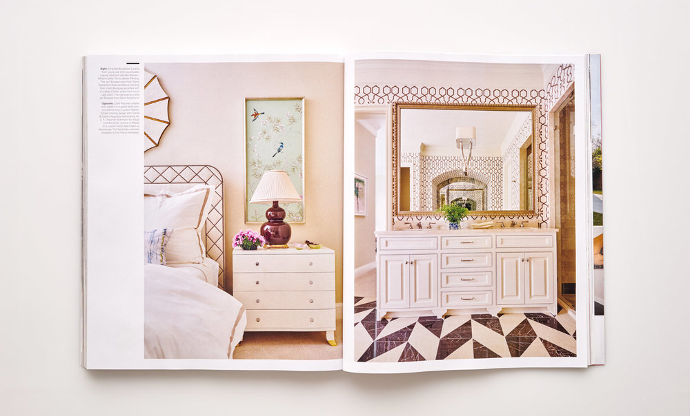 Stephen Karlisch Luxe Elegant Expanse Guest Room