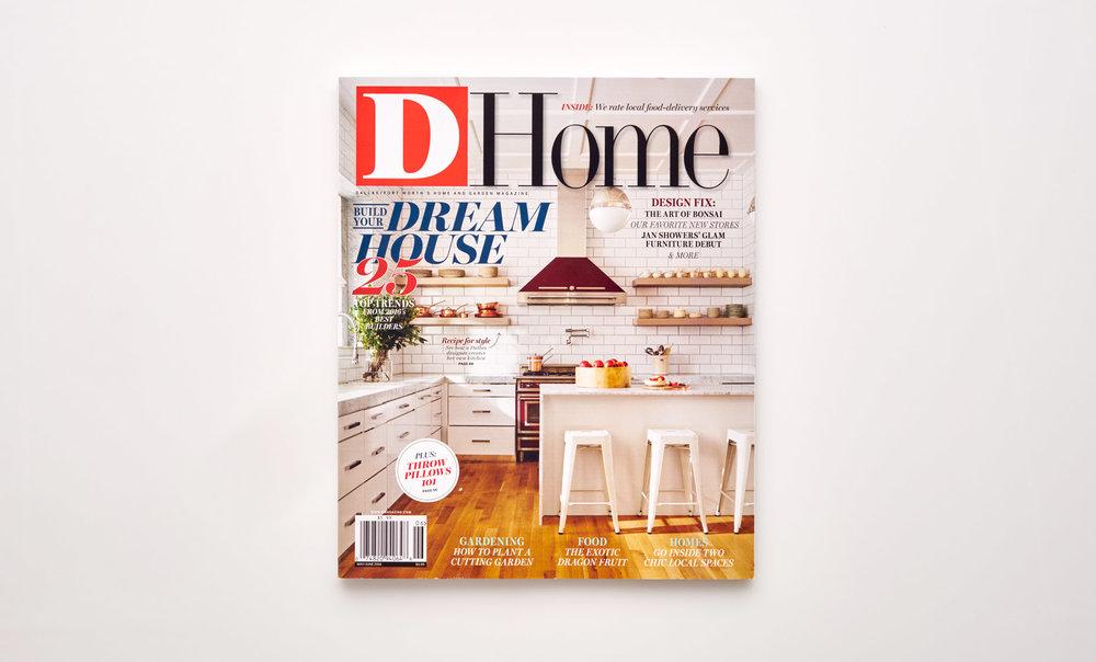 Stephen Karlisch D Home Dream House Magazine Cover