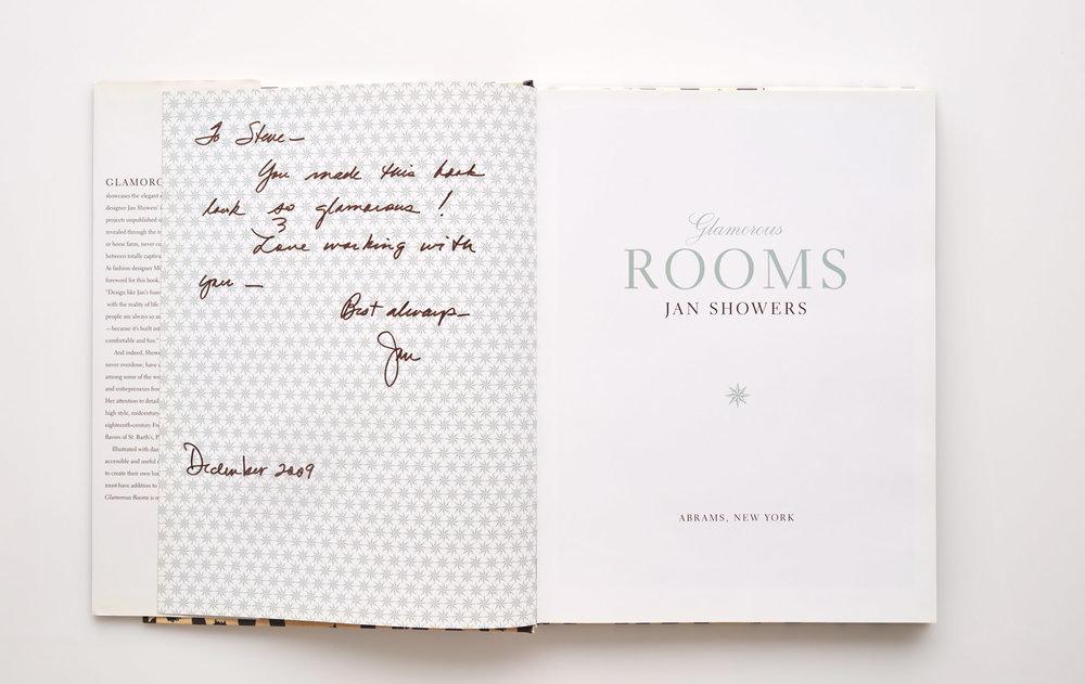 Stephen Karlisch Jan Showers Glamorous Rooms Autograph