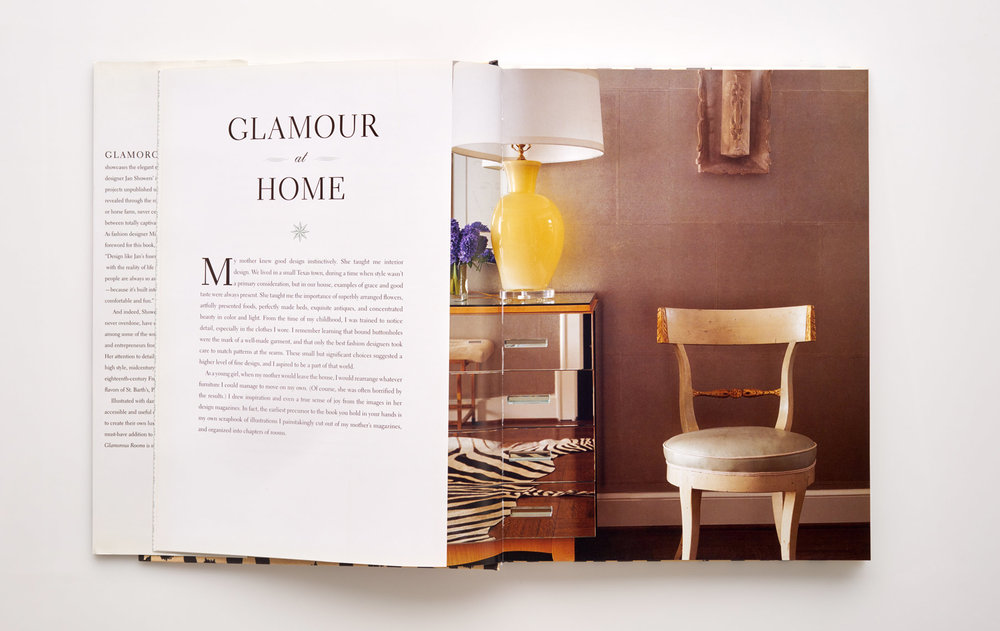 Stephen Karlisch Jan Showers Glamorous Rooms Chair Detail
