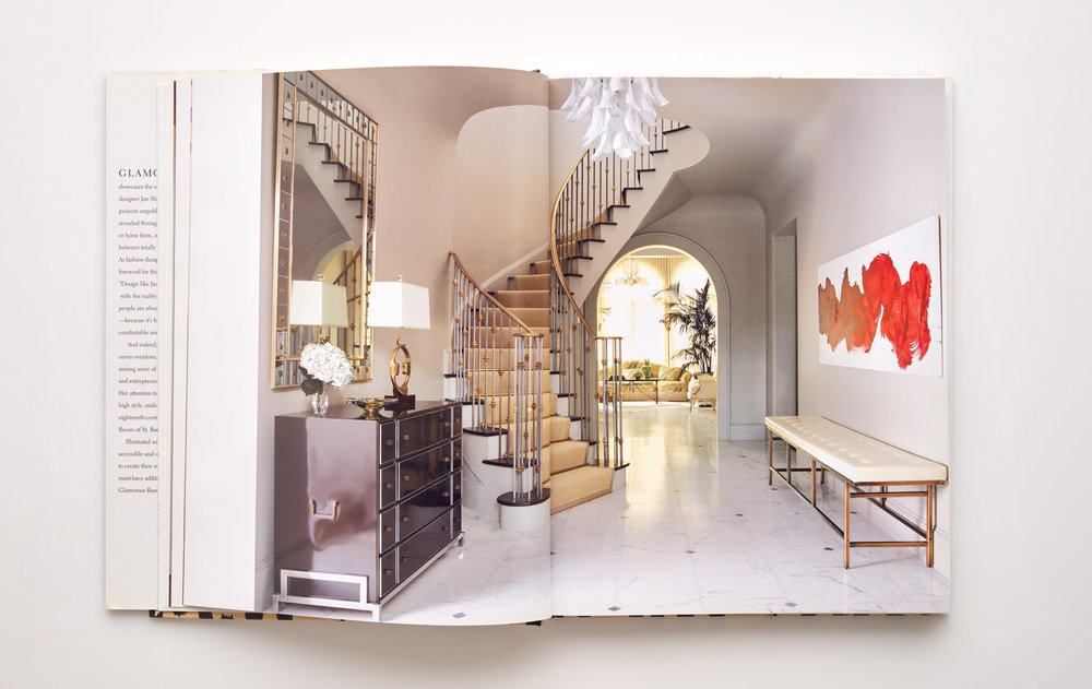 Stephen Karlisch Jan Showers Glamorous Rooms Curved Stair