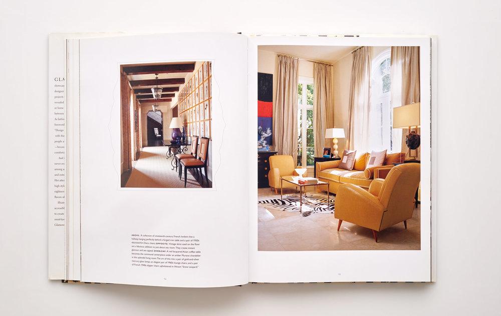 Stephen Karlisch Jan Showers Glamorous Rooms Living Room Intimate