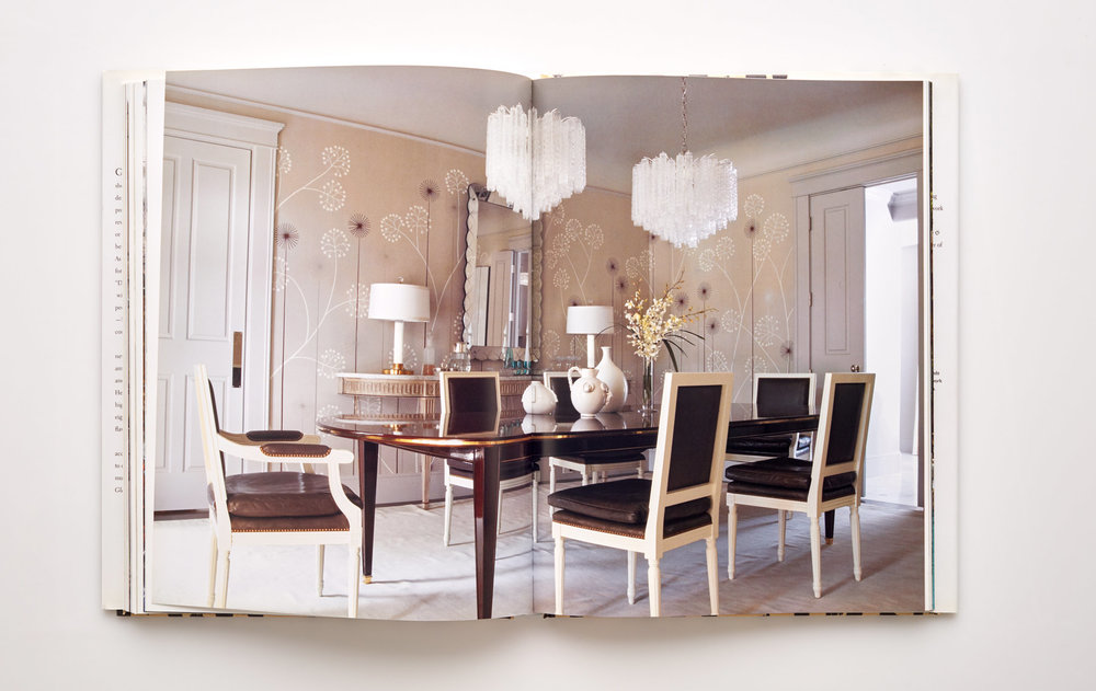 Stephen Karlisch Jan Showers Glamorous Rooms Eclectic Dining