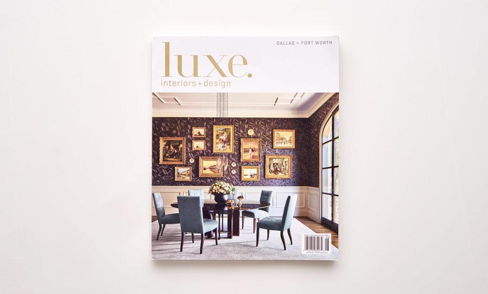Stephen Karlisch Luxe Surface Interest Magazine Cover