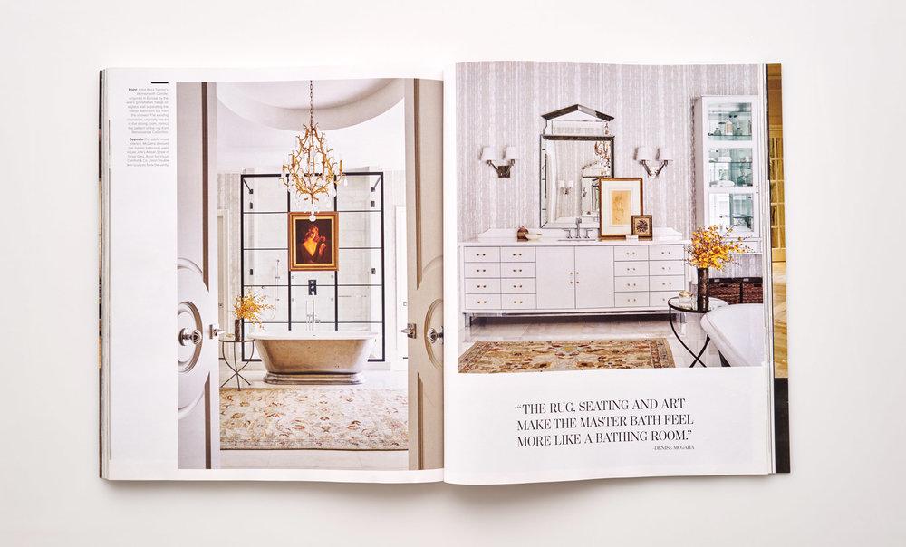 Stephen Karlisch Luxe Surface Interest Bath