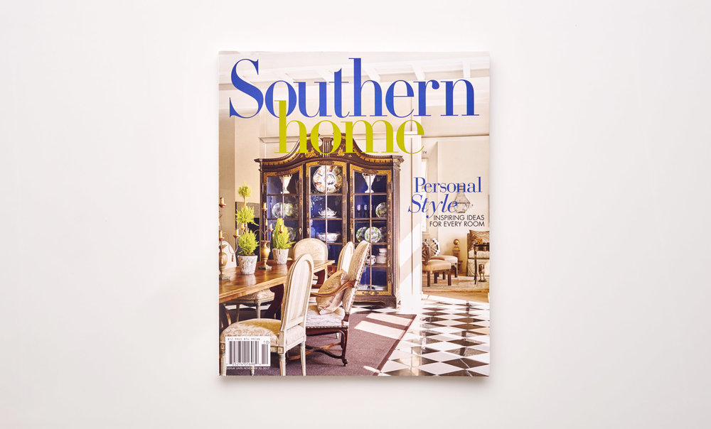Stephen Karlisch Southern Home Livable Luxury Magazine Cover