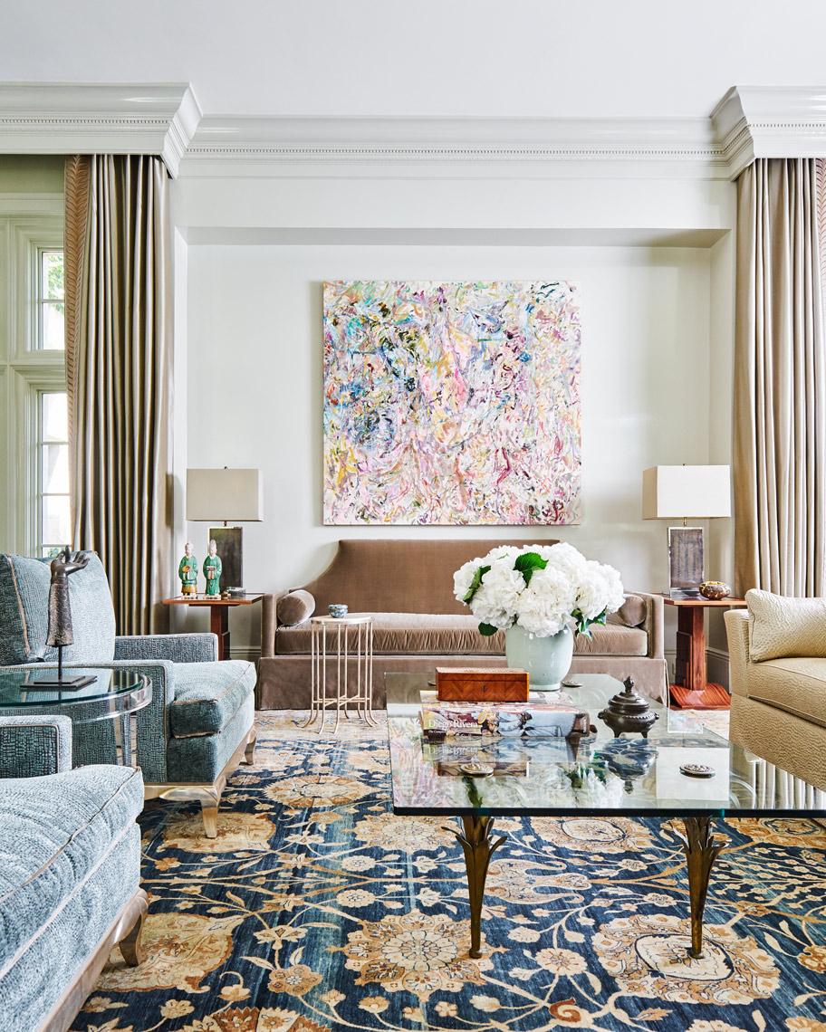 Stephen Karlisch Meadwood Project Living Room