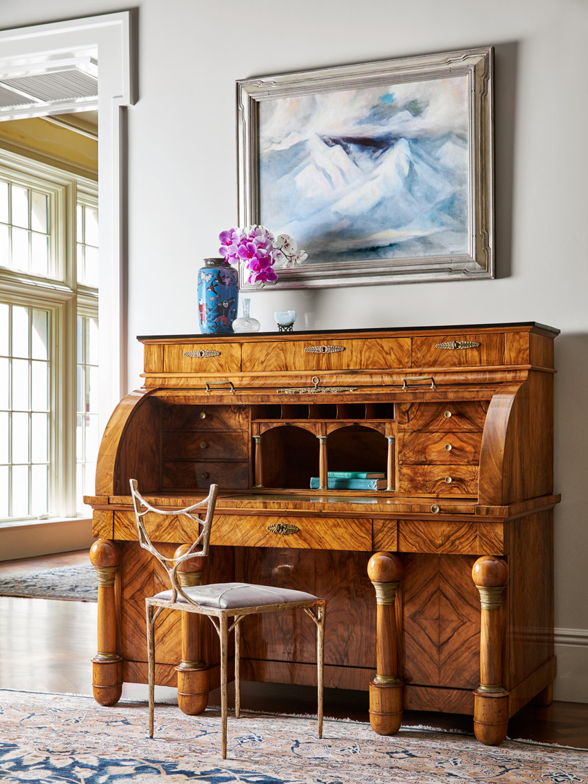 Stephen Karlisch Meadwood Project Tiger Stripe Desk