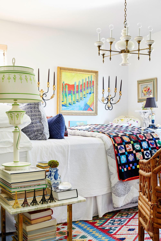 Stephen Karlisch Second Home Bedroom Bed