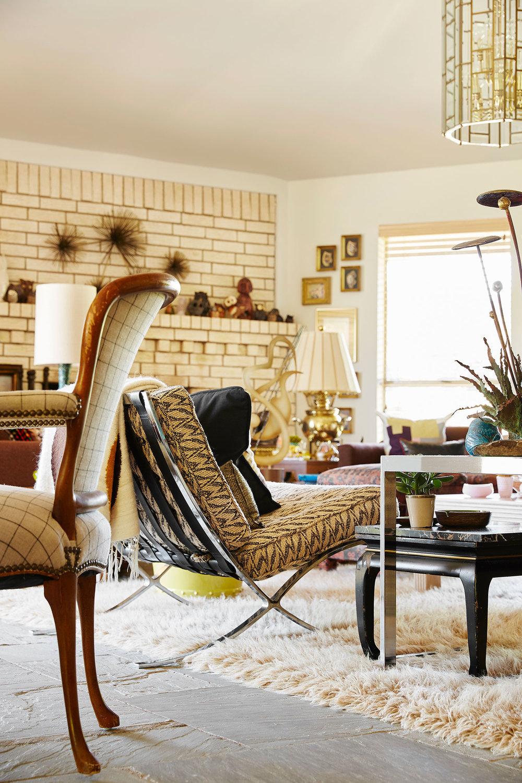 Stephen Karlisch Second Home Living Room Detail