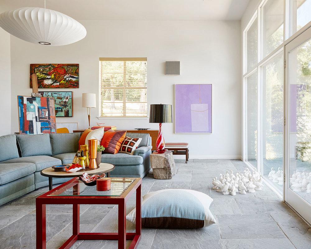 Stephen Karlisch Second Home Family Room
