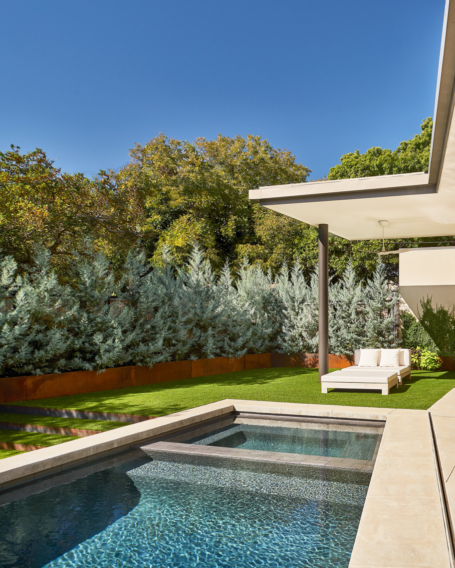 Stephen Karlisch Caruth Exterior Swimming Pool