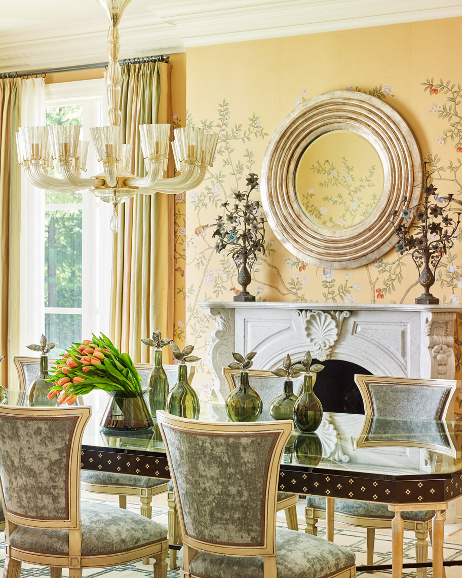 Stephen Karlisch Straight Lane Dining Room Table