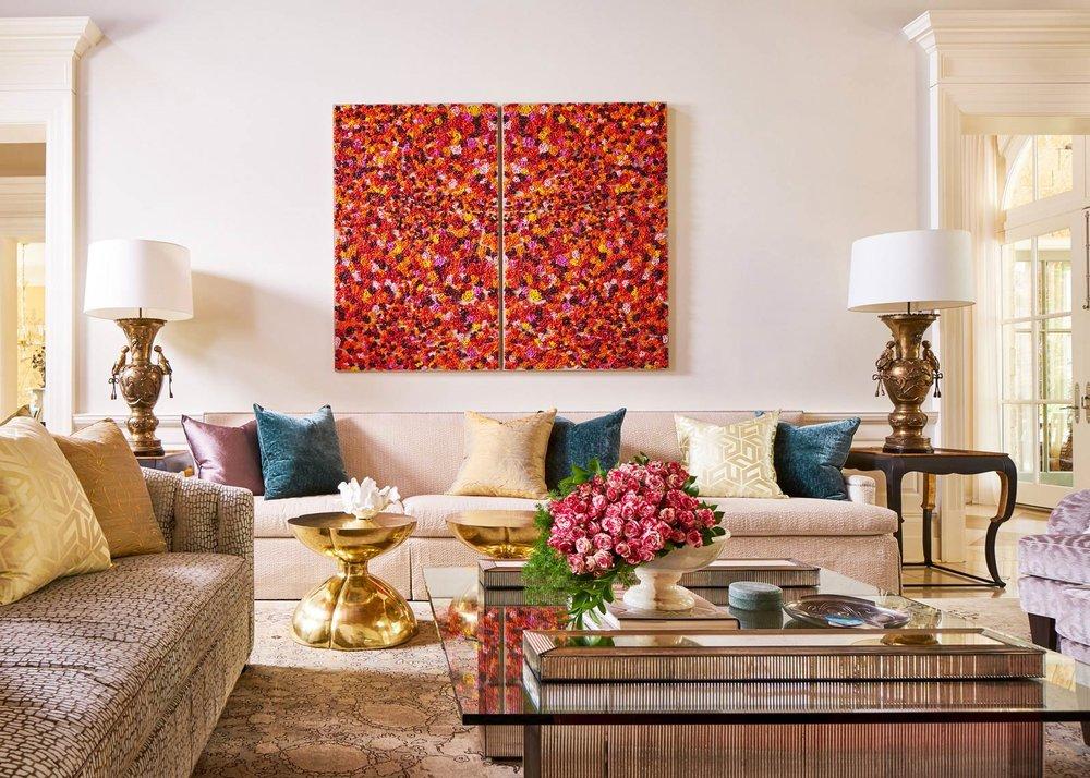 Stephen Karlisch Straight Lane Living Room Sofa