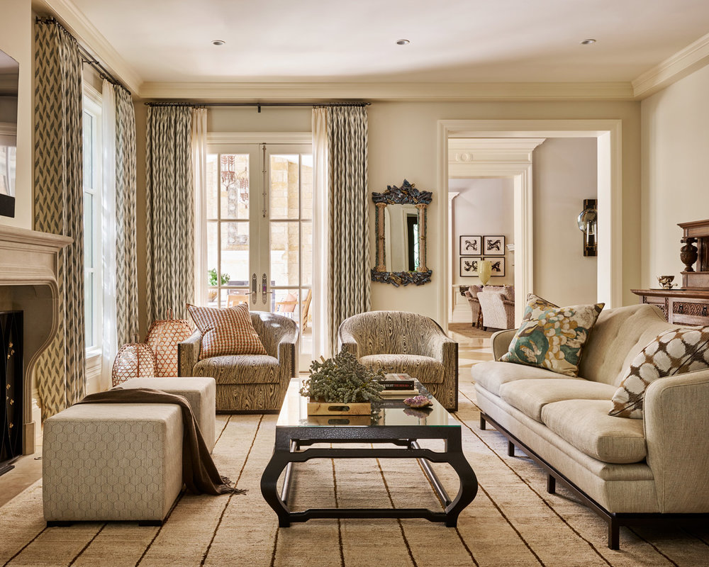 Stephen Karlisch Straight Lane Family Room