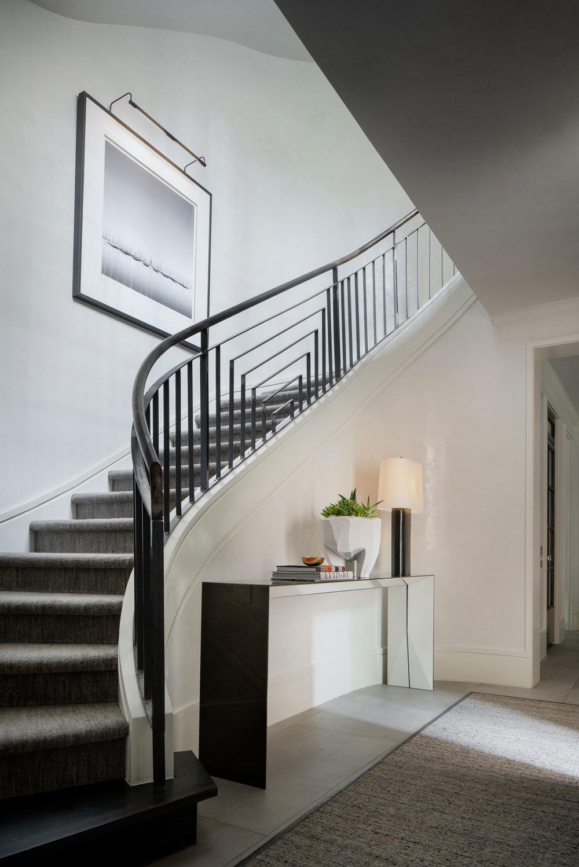 Stephen Karlisch Blackburn Curved Stairs