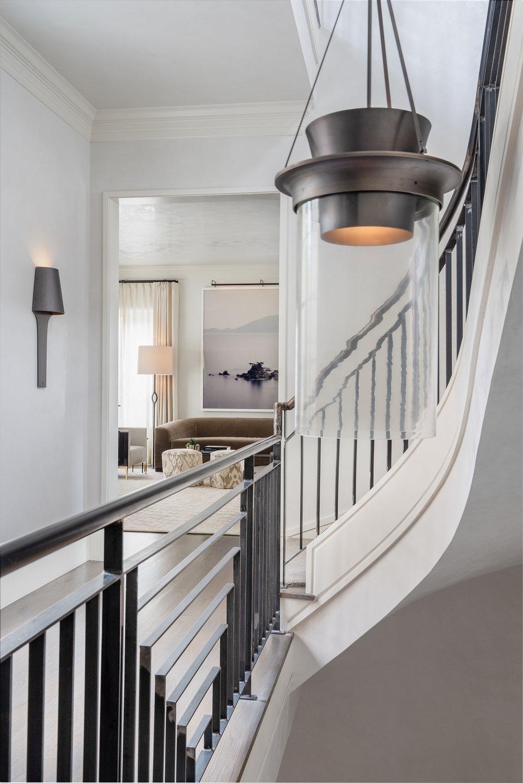 Stephen Karlisch Blackburn Curved Stair Detail