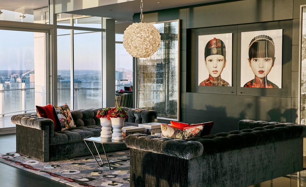 Stephen Karlisch Owens Project Living Room Detail