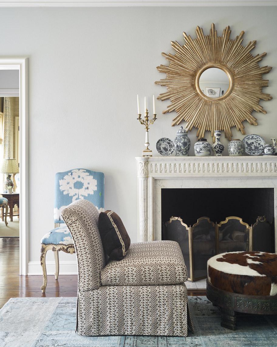 Stephen Karlisch B Magazine Project Fireplace