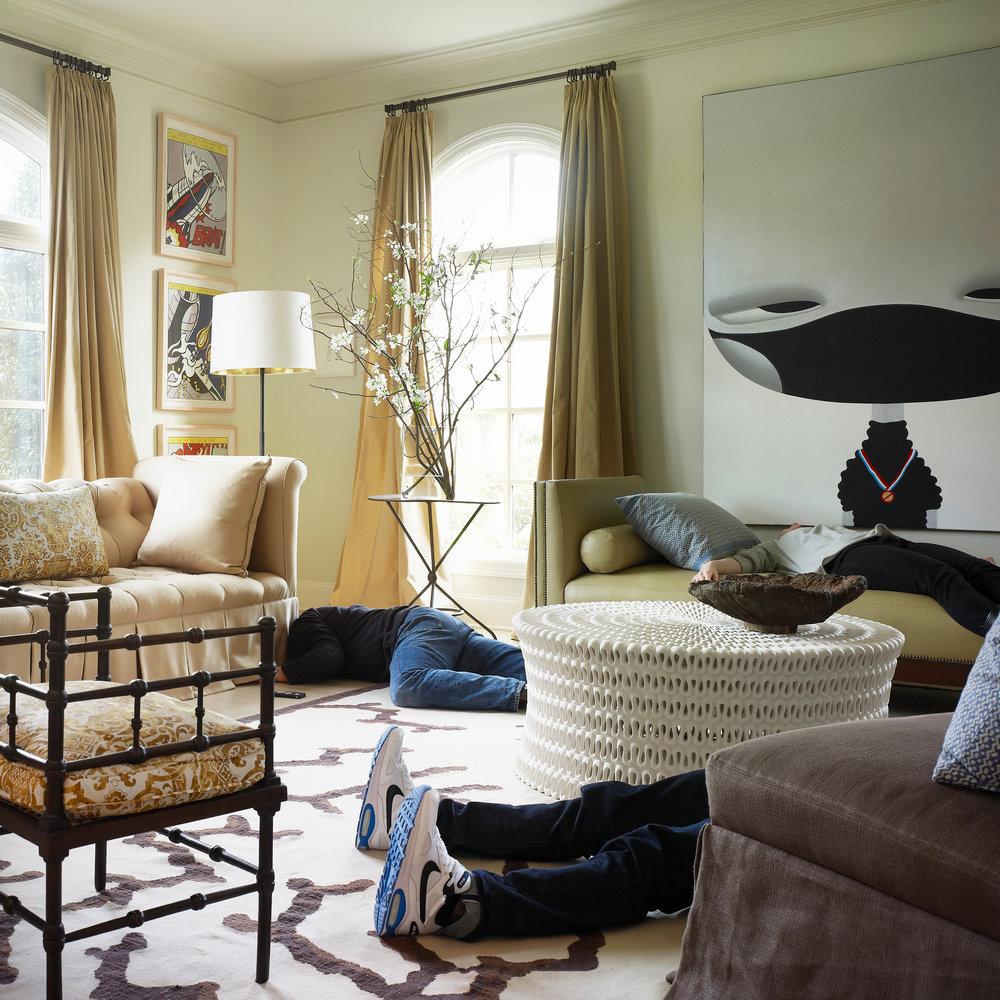 Stephen Karlisch Deadshots Contemporary Living Room