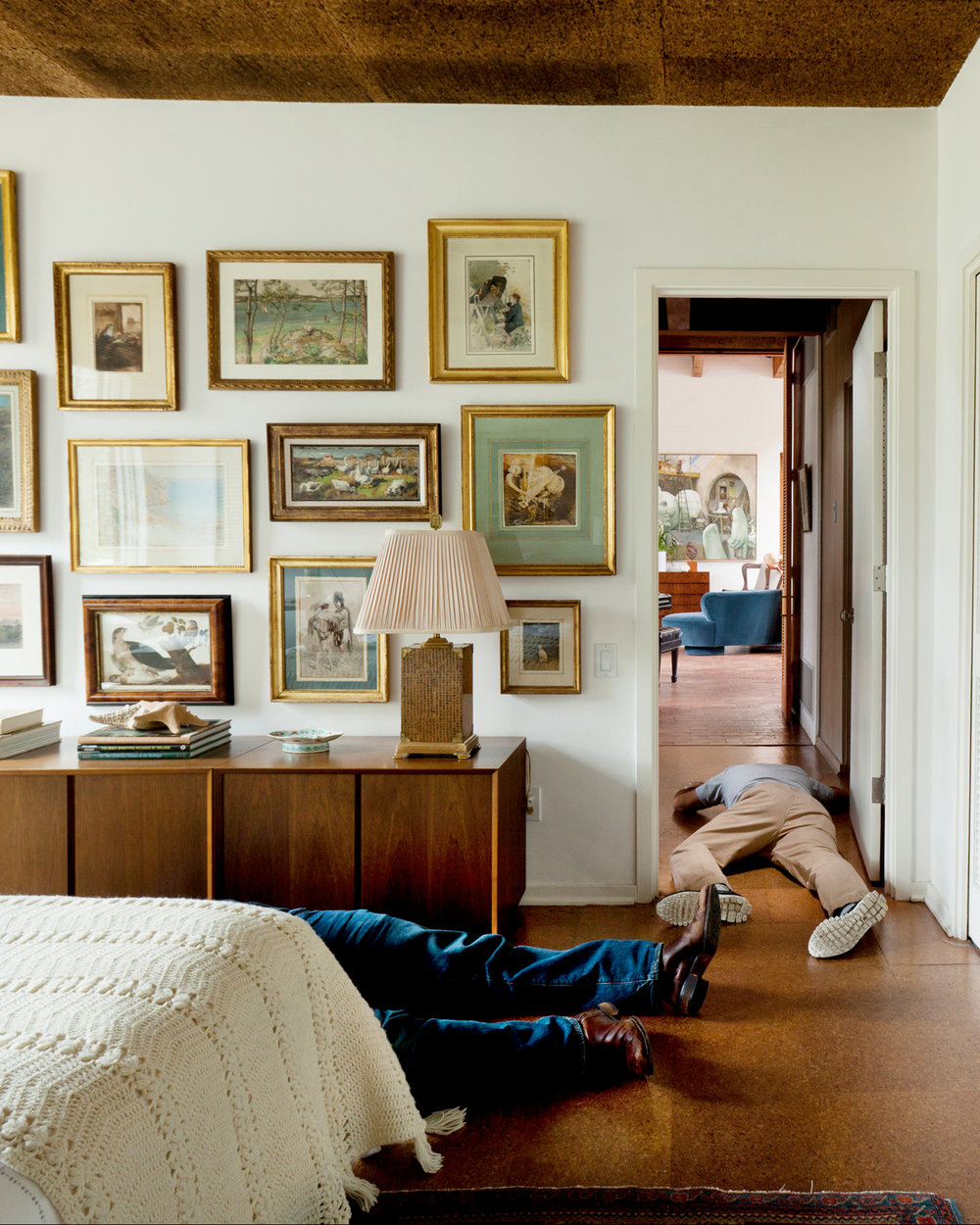 Stephen Karlisch Deadshots Contemporary Bedroom