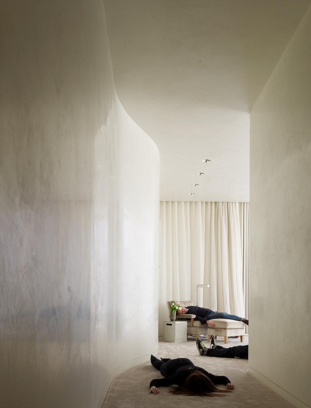 Stephen Karlisch Deadshots Modern Minimalist Hall