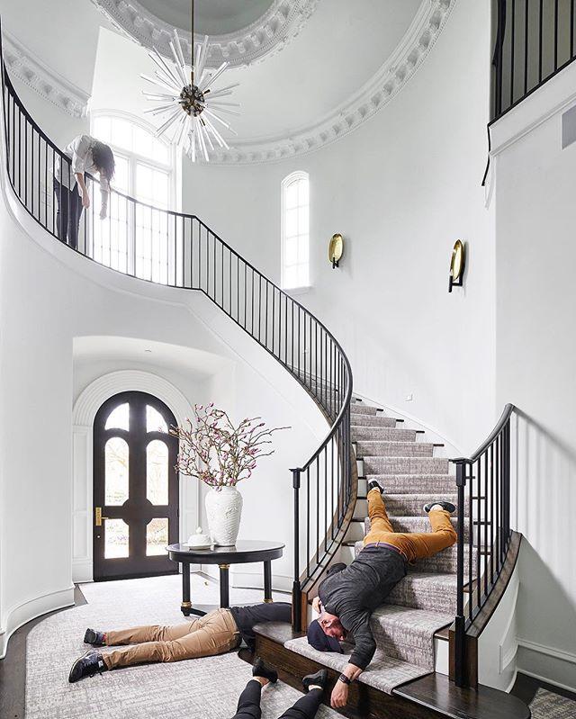 Stephen Karlisch Deadshot Staircase
