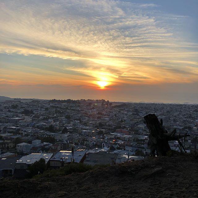 San Francisco sky. So grateful to @searchinsideyourselfleadership
