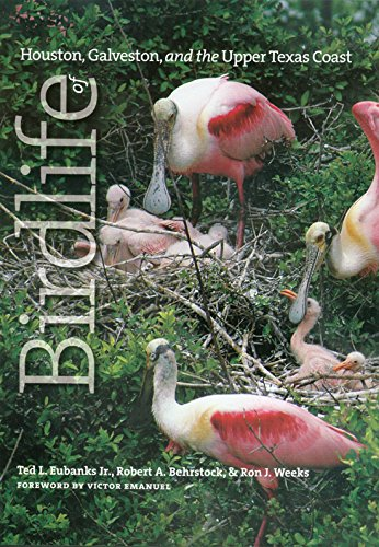 Birdlife of Houston, Galveston, and the Upper Texas Coast - by Ted Eubanks, Robert A. Behrstock, and Ron J. WeeksThe authors draw on their lifetime of experience to present a thorough introduction and discussion of the migrant and resident birds of this region.