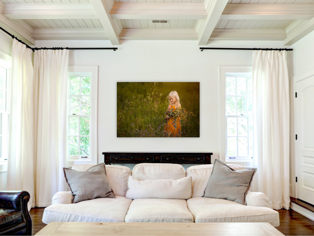 Wall Art - Nothing has more impact on your wall than a professional portrait designed to suit your personality and decor. Available in canvas, metal, or framed prints 20 inches and larger.From $399