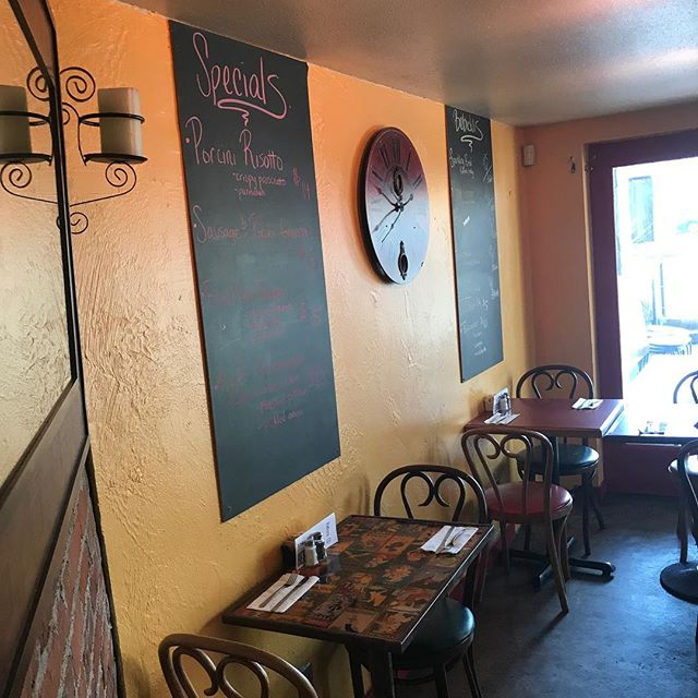 We Painted!  Come look at our new fresh look!  #freshface #newpaint #mediterranean